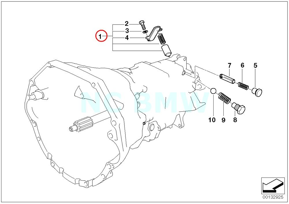 BMW Genuine Locking Repair Kit