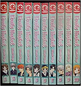 Fruits Basket Complete Set Volumes 1 10 Tokyopop Manga Natsuki Takaya Amazon Books