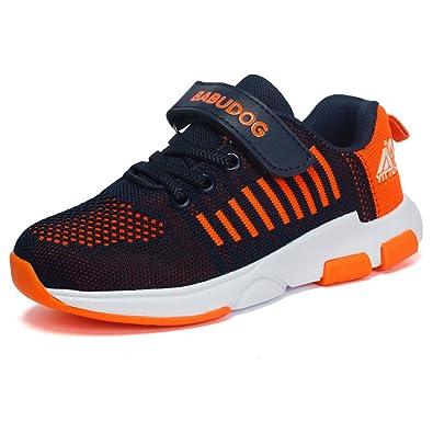 6ae57bc5861a1 KVbaby Chaussure de Course Sport Fille Baskets Garçon Chaussures de Running  Entrainement Enfant