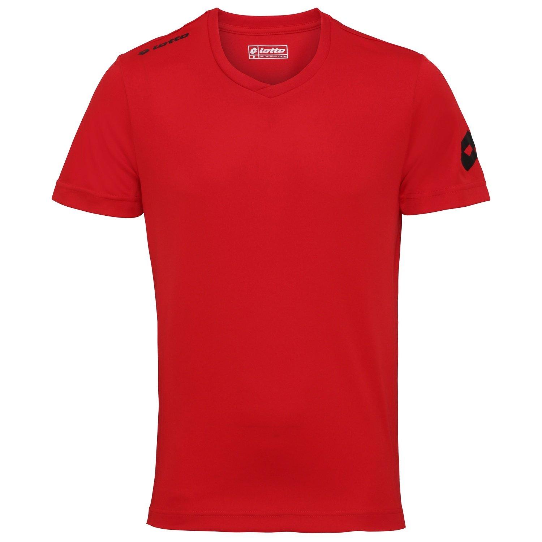Lotto - Camiseta de fútbol Transpirable Modelo EVO para Hombre: Amazon.es: Ropa y accesorios