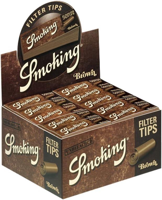 Smoking Filter Tips Medium Brown