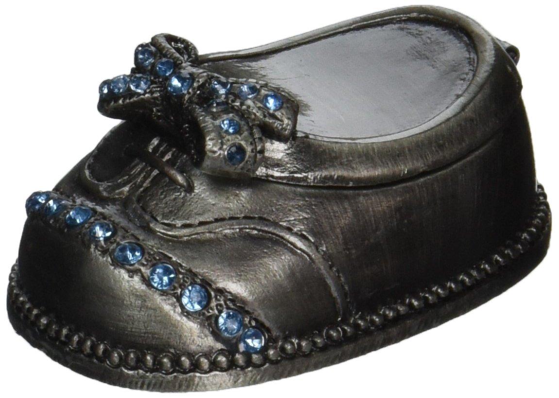 Fei Gifts Baby Boy Shoe Trinket Box PTC4186BX