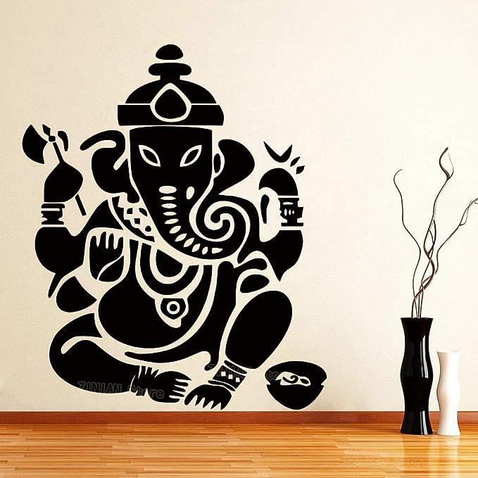 guijiumai Ganesha Vinilo Pegatinas de Pared Habitación de Niños ...