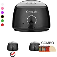 GreenLife® Hair Removal Wax Warmer/Hair Removal Wax Warmer Kit(Wax Warmer Only, Black)