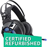 (CERTIFIED REFURBISHED) Redgear Cosmo 7.1 Gaming Headphones with RGB LED Effect, Mic and in-line Controller