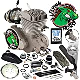 Flying Horse 66/80cc EPA Approved Silver Angle Fire 2-Stroke Bicycle Engine Kit