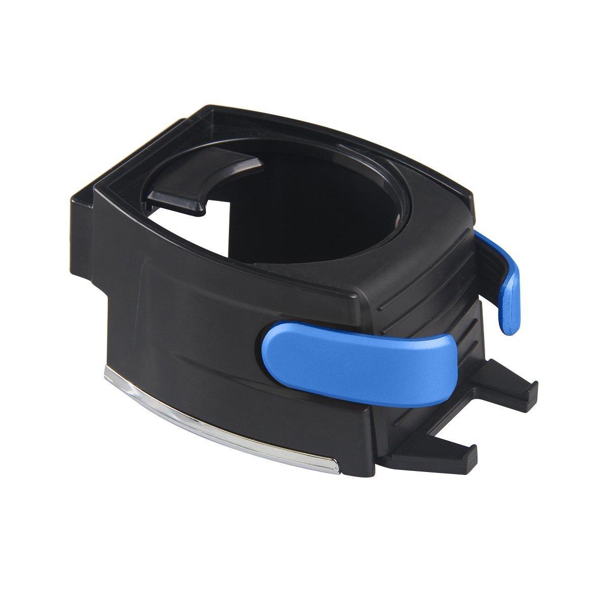 Cl/és Noir Bouteille// Canette XFAY 2 en 1 Support Multifonctionnel de Voiture en Plastique pour Gobelet//Smartphone /& Support Porte-gobelet /& Support T/él/éphone Cartes ect
