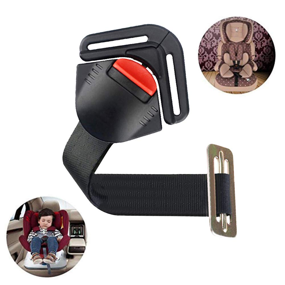 Universal Baby Car Seat Stroller Pushchair 5PT 5 Point Adjustable Strap Safety Harness Locking Buckle Clip Car Seat Toddler Harness Clip for Pram Buggy Electric Cars Kid Pushchair