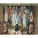Design Toscano The Arming and Departure of the Knights Tapestry: Large
