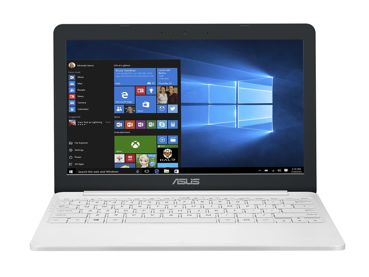 ASUS E203NA-FD020TS 11.6-Inch Laptop (White) – (Intel Celeron 3350 Processor, 2 GB RAM, 32 GB eMMC + 2 Years of 500 GB Free Web Storage, Pre-Installed with Microsoft Office 365, Windows 10) by Asus
