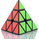HAKATA Pyraminx 3x3x3 スピードキューブ ピラミッド 競技用 三角形 マジック キューブ 立体パズル ストレス解消
