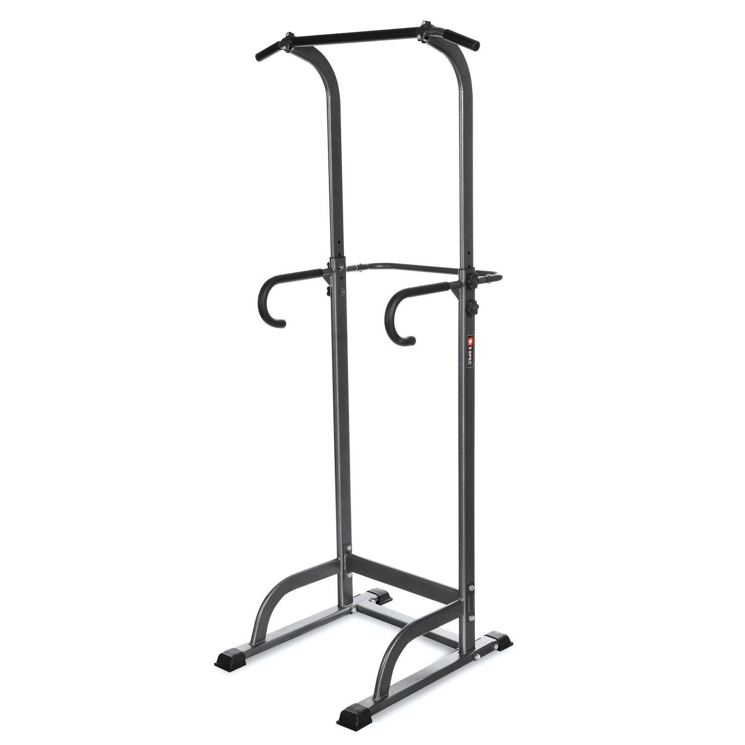 Power Tower Stand,Pagacat Adjustable Heavy Duty Pull Push Up Dip Station Exercise Equipment for Home Gym[US Stock]