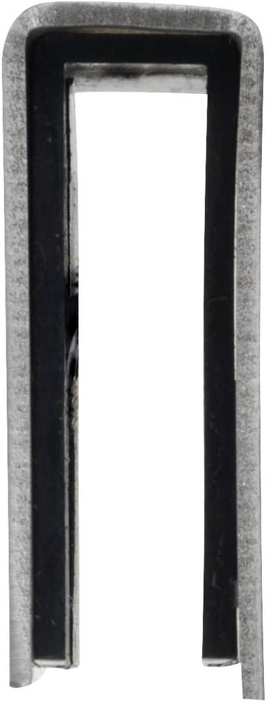 Wenko Percha para Mampara, Acero Inoxidable, Mate, 5.5 x 2 x 7 cm ...