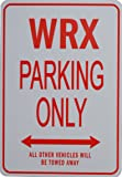 WRX PARKING SIGN - Miniature Fun Parking Signs - Ideal Gift for the Subaru enthusiast