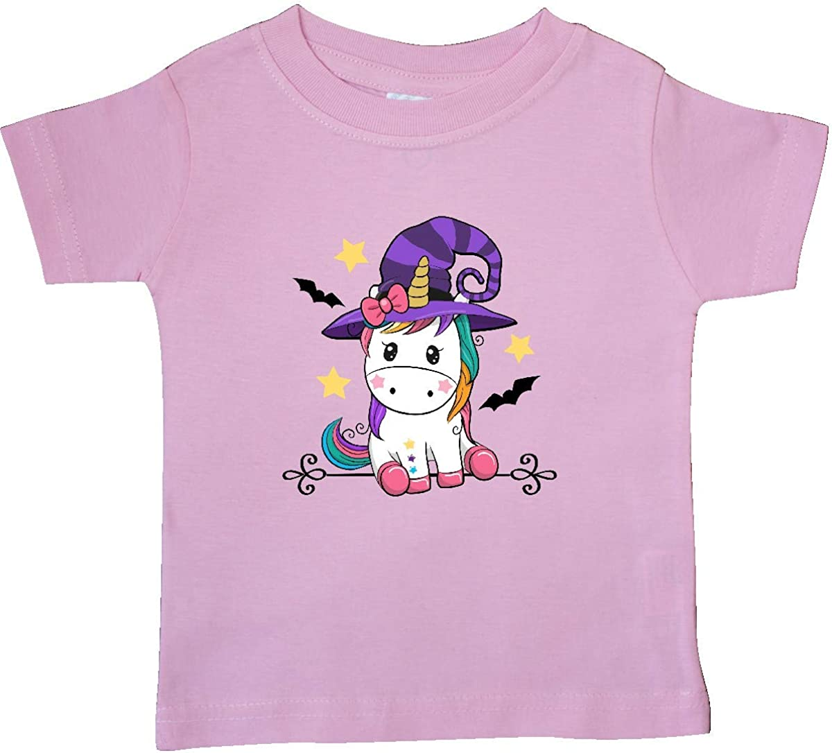 inktastic Halloween Girls Unicorn Witch Outfit Baby T-Shirt