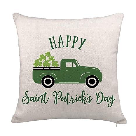 Amazon.com: YOENYY St. Patricks - Funda de cojín para sofá ...