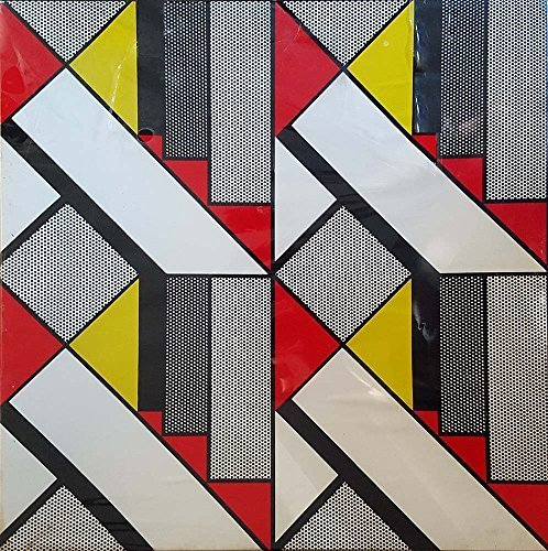 "Vintage 500pc Puzzle, ""Modular Painting With Four Panels No. 5"" of 1969, Roy Lichtenstein"