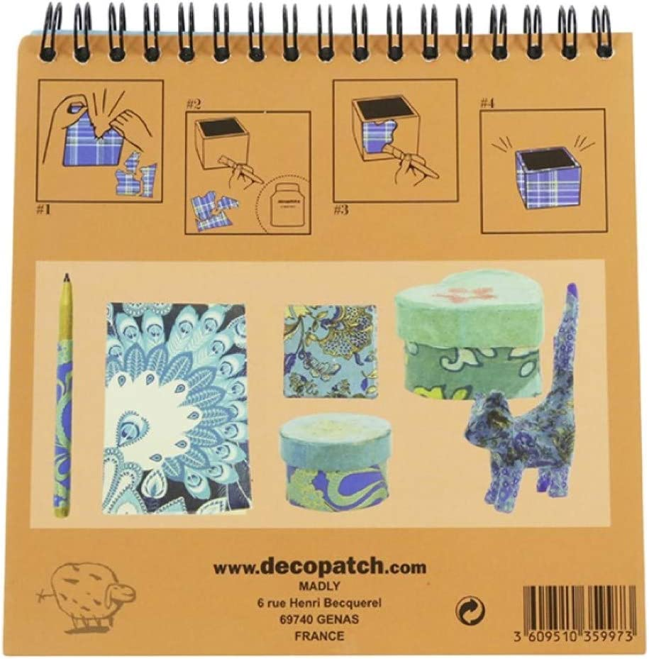 Universal D/écopatch BLOC01O Cuaderno