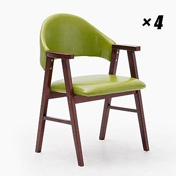 Sillas De Comedor Hogar Moda Cafe Seat Silla De Cocina Estilo ...