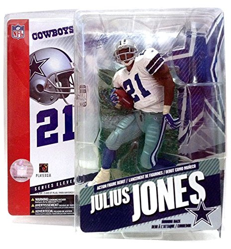 - McFarlane Toys NFL Series 11 Figure: Julius Jones, Dallas Cowboys White Jersey
