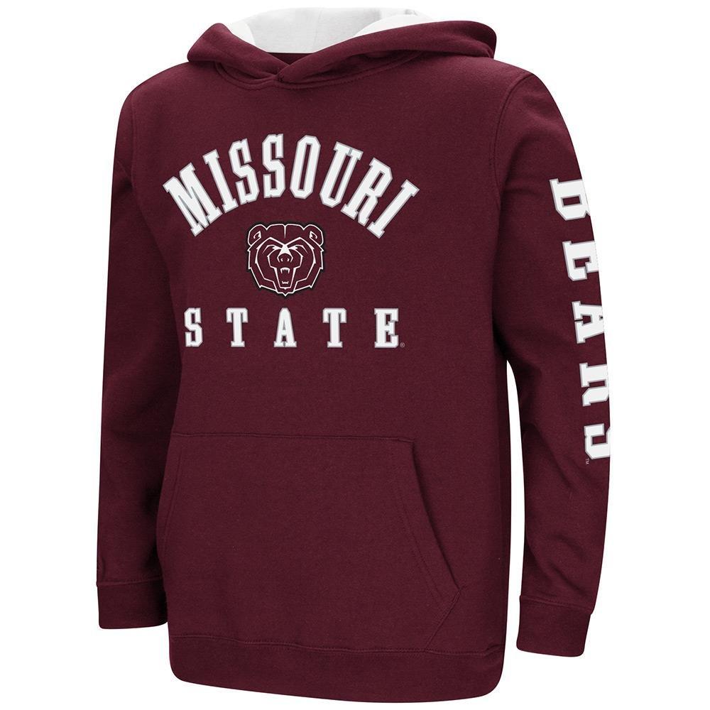 Colosseum Youth Missouri State Bears用プルオーバーパーカー B07DWMNP2B  Medium (12/14)