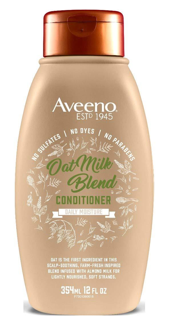Aveeno Conditioner Oat Milk Blend 12 Ounce (Moisture) (354ml) (2 Pack)