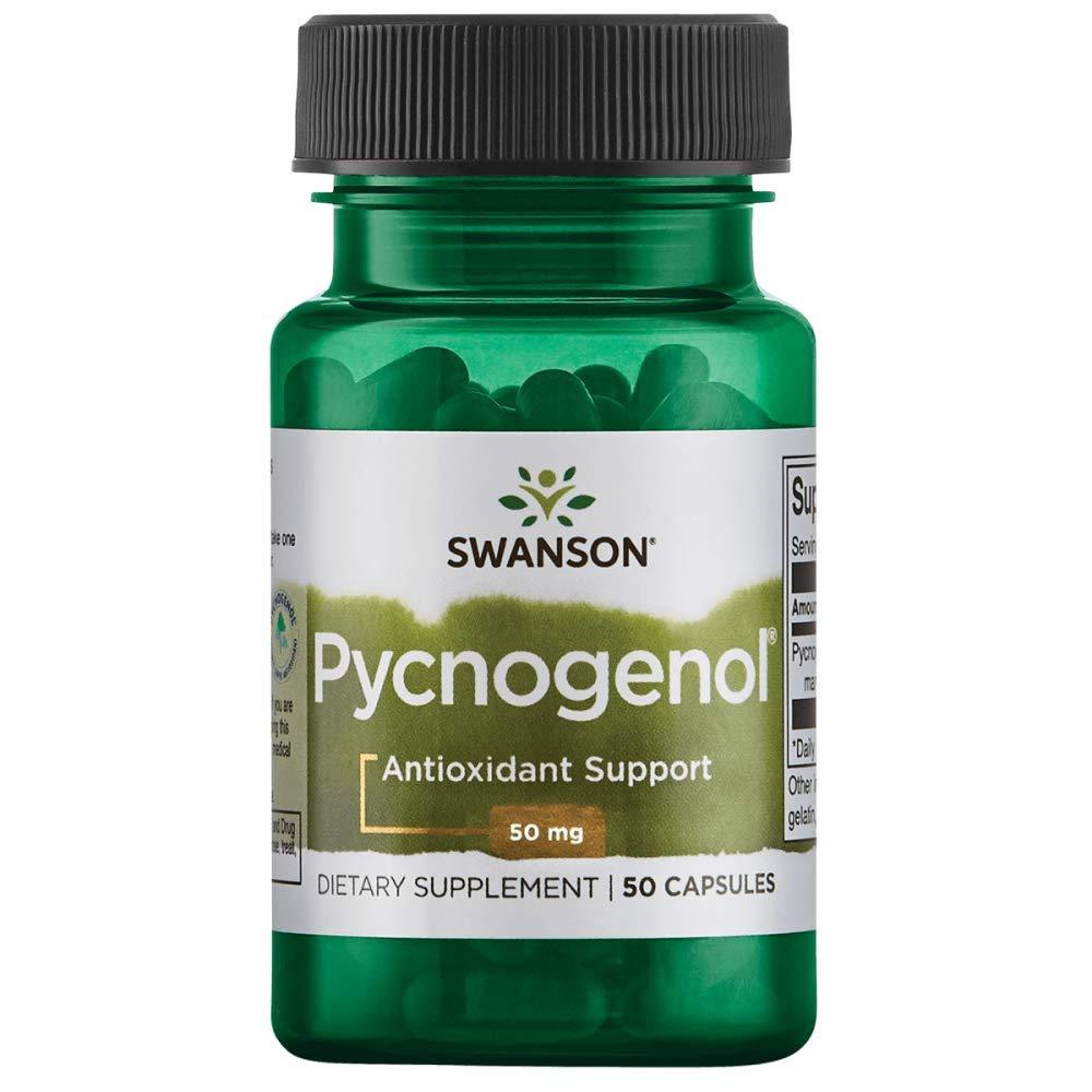 Swanson Pycnogenol 50 Milligrams 50 Capsules by Swanson