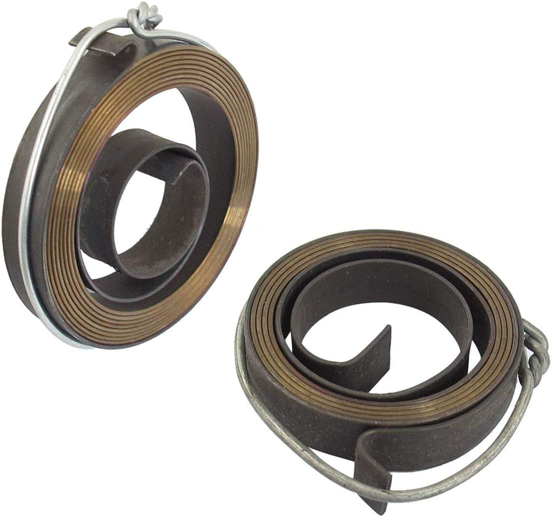 COMOK 2PCS Copper Penny 10mm//0.39inch Width Drill Press Quill Metal Coil Spring Assembly Tool