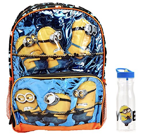 Despicable Me Minions Backpack & Water Bottle