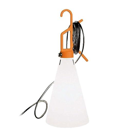 Lampada Flos May Day.Flos May Day Lampada Portatile O Da Tavolo Arancione Amazon It