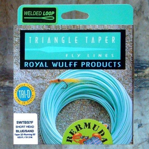 ロイヤルWulffバミューダショーツswtbs12 F三角形テーパFly Line by Royal Wulff製品 B018ROFIA2