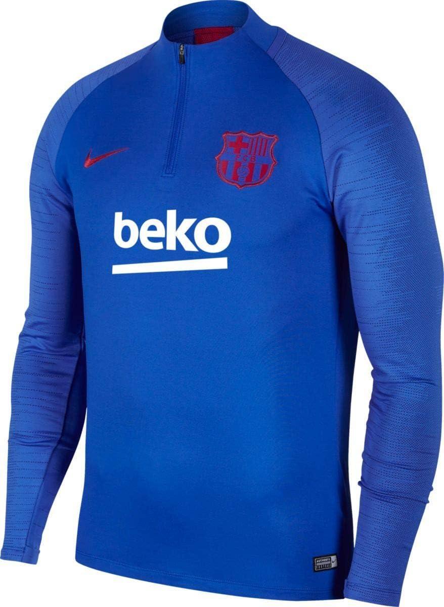 Nike FCB M NK Dry Strk Dril Top T Shirt Homme: