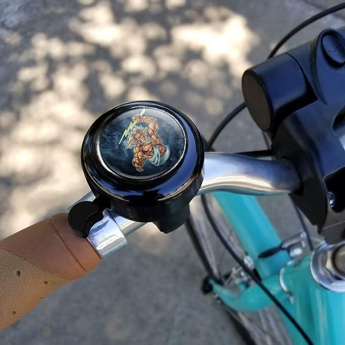 Graphics and More Zeus - Timbre para Manillar de Bicicleta, Diseño ...