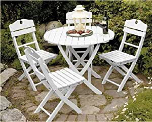 english garden dining chairs and table