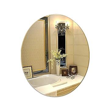 YANG Specchio da Bagno, Grande Specchio da Parete Ovale Senza ...