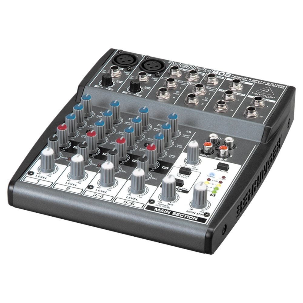 BEHRINGER XENYX 802 MIXING CONSOLE- XENYX 802 - Pack of 1 [Electronics] GO4110588