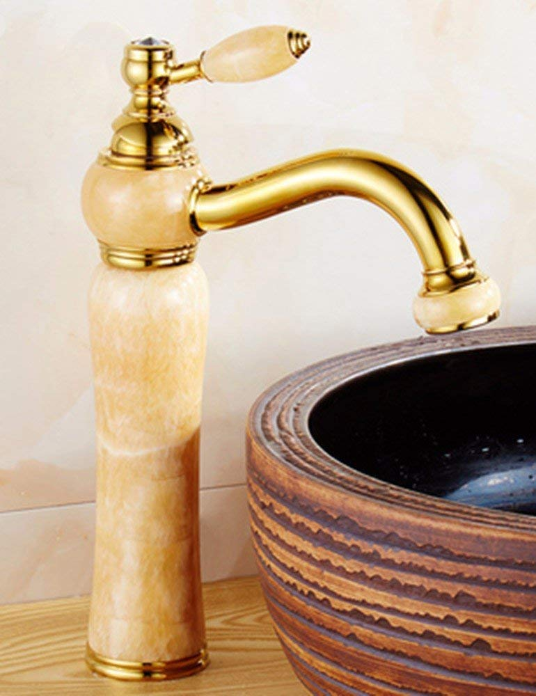 Oudan European style hot and cold the Jade Washbasin Faucet