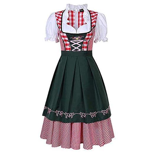 Weishazi - Disfraz de cerveza para mujer de Oktoberfest para ...