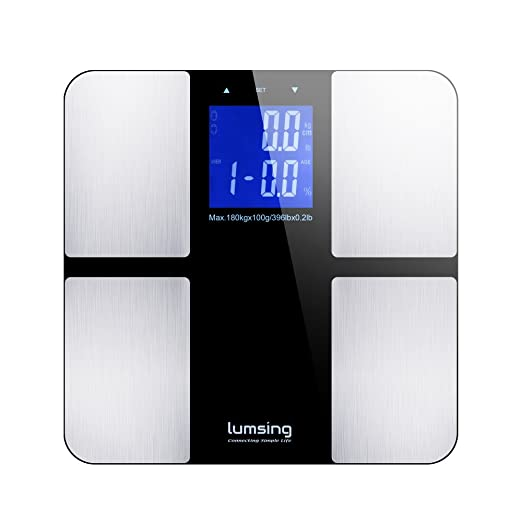 3 opinioni per Body Weight Scale, Lumsing Digital Body Fat Scale Health Monitor Measures