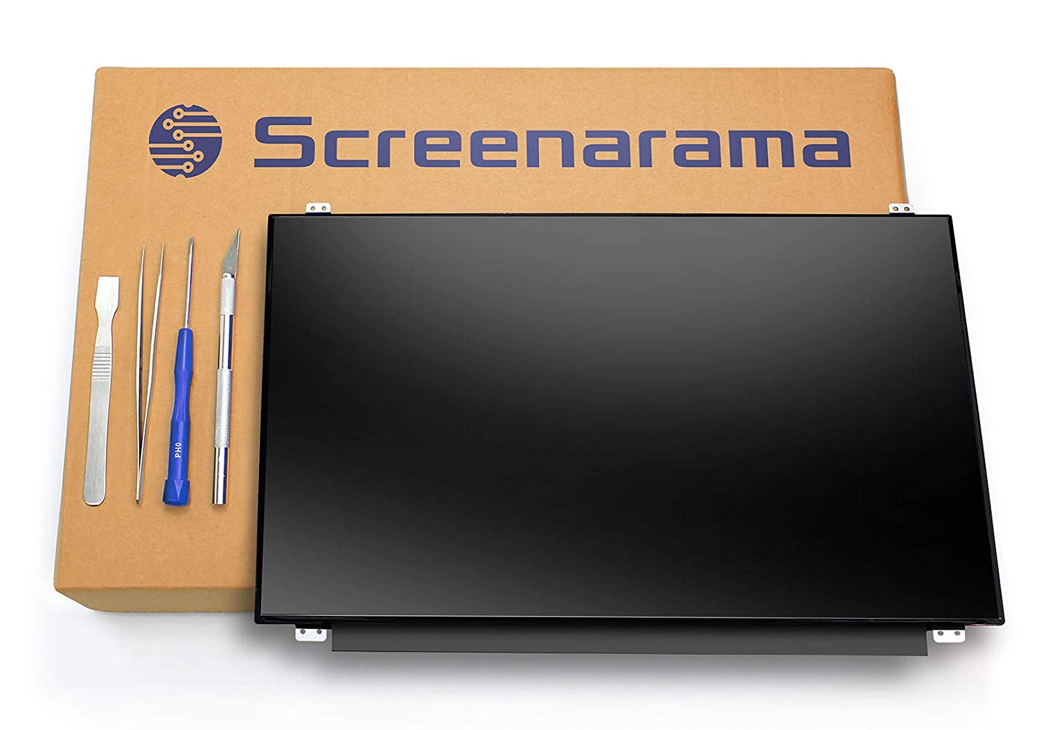 HD 1366x768 LCD LED Display with Tools Glossy SCREENARAMA New Screen Replacement for Dell Inspiron 3878
