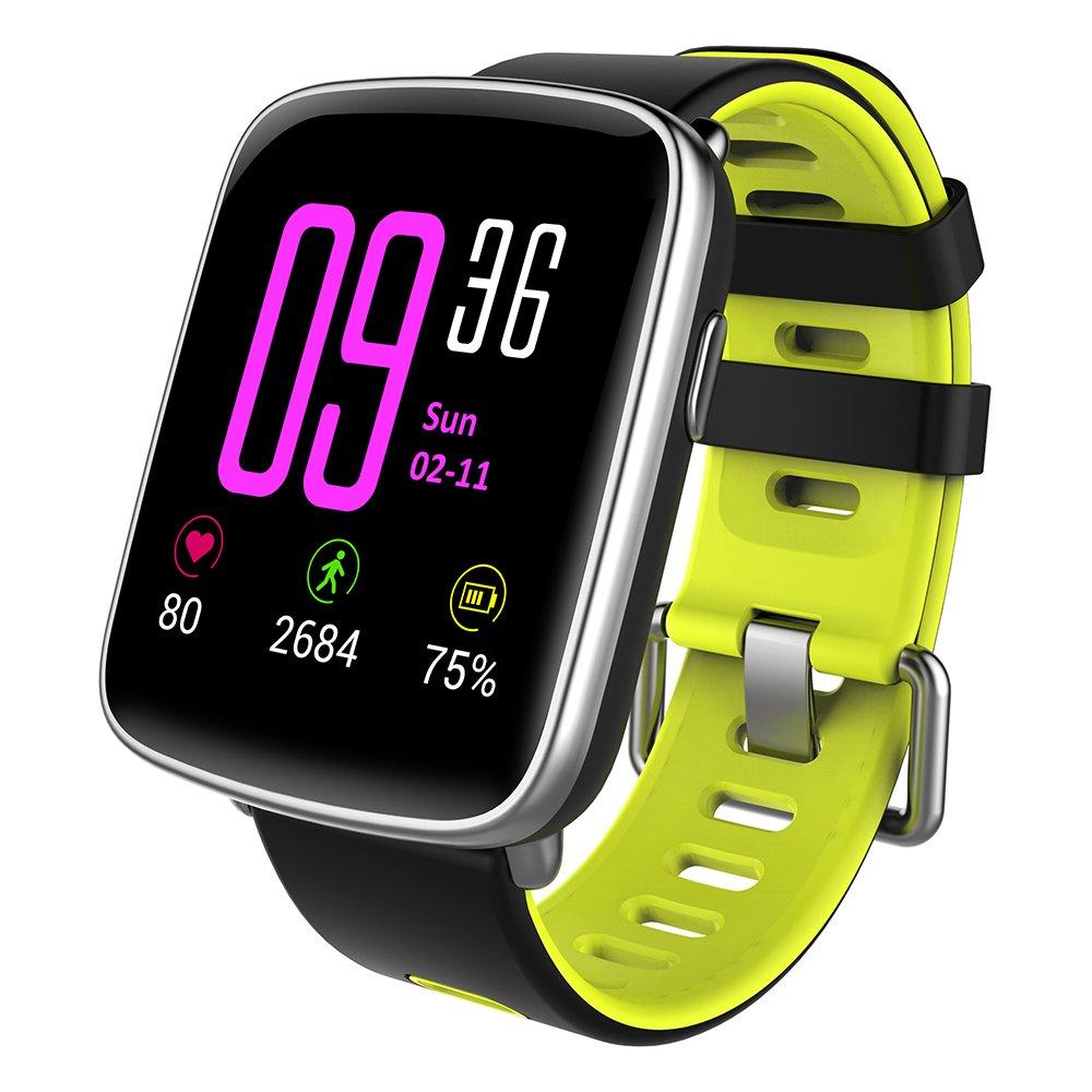 YAMAY Smartwatch Impermeabile IP68 Smart Watch Orologio Fitness Cardiofrequenzimetro da Polso Smart Watch Fitness Activity Tracker Pedometro Orologio Sport per Donna Uomo per Telefoni Android e iOS product image