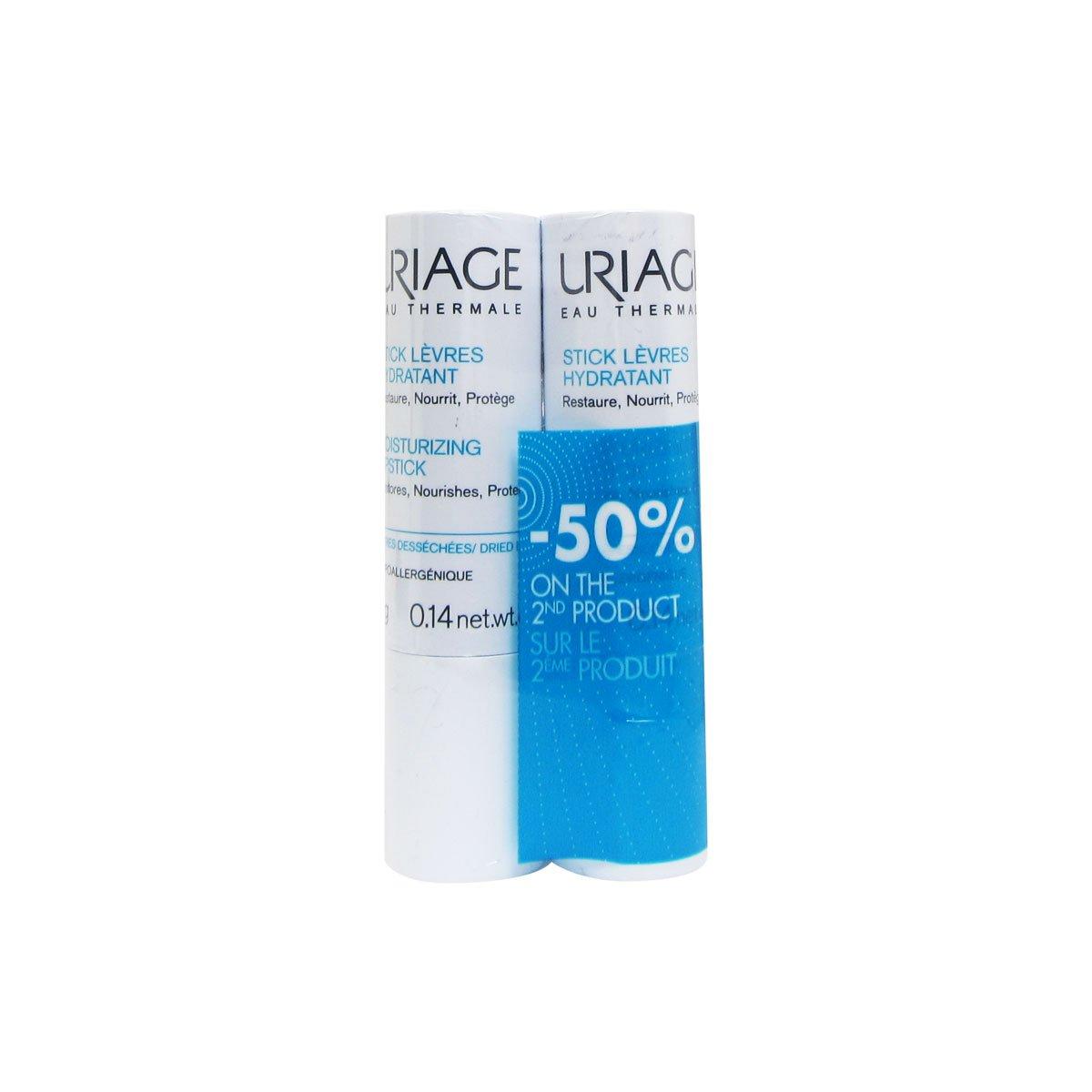 Uriage Pack Lip Stick 2x4gr 3661434004773