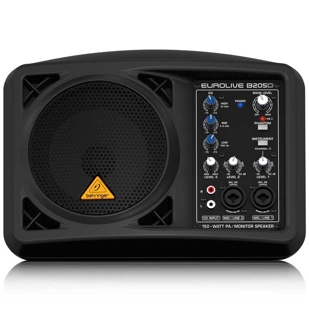 Behringer Eurolive B205D Ultra-Compact 150-Watt PA/Monitor Speaker System by Behringer (Image #3)