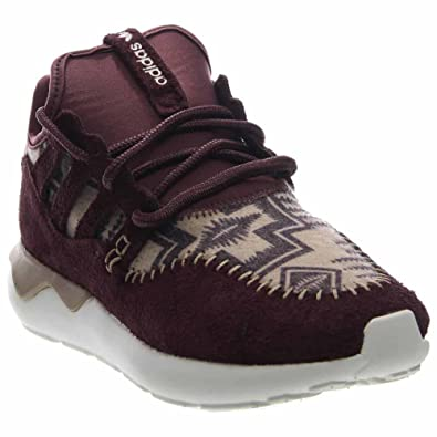 5a3e31e60 adidas Tubular Moc Runner Mens Night Red Hemp White