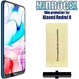 OcioDual Protector de Pantalla TPU Hidrogel para Xiaomi Redmi 8 Flexible Membrana Lámina Protectora Cubierta…