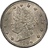 1894 P V-Nickels Nickel MS63 PCGS\CAC