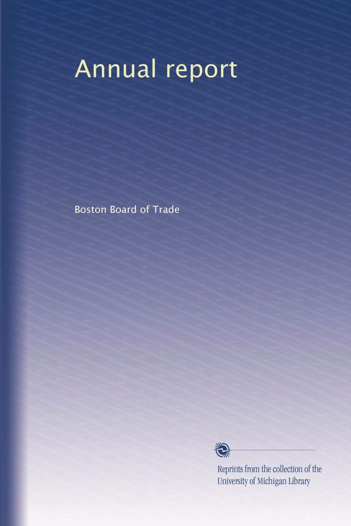 Annual report (Volume 9) pdf epub