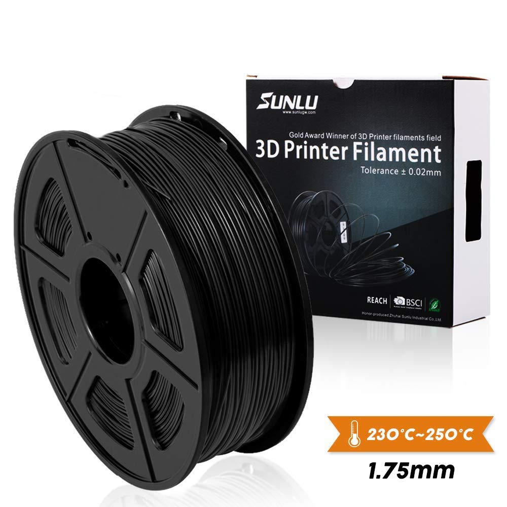 SUNLU - Filamento para impresora 3D PLA (1,75 mm, precisión ...