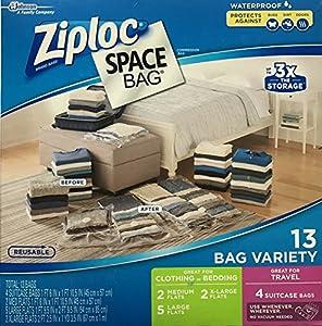 Amazon Com Ziploc Space Bag Vacuum Seal Bag 13 Bag