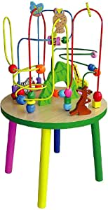 Wooden Wire Beads Table-Wooden Educational Toys